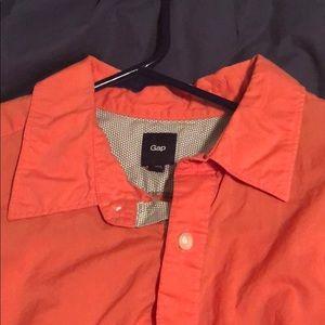 Gap men's large dress shirt